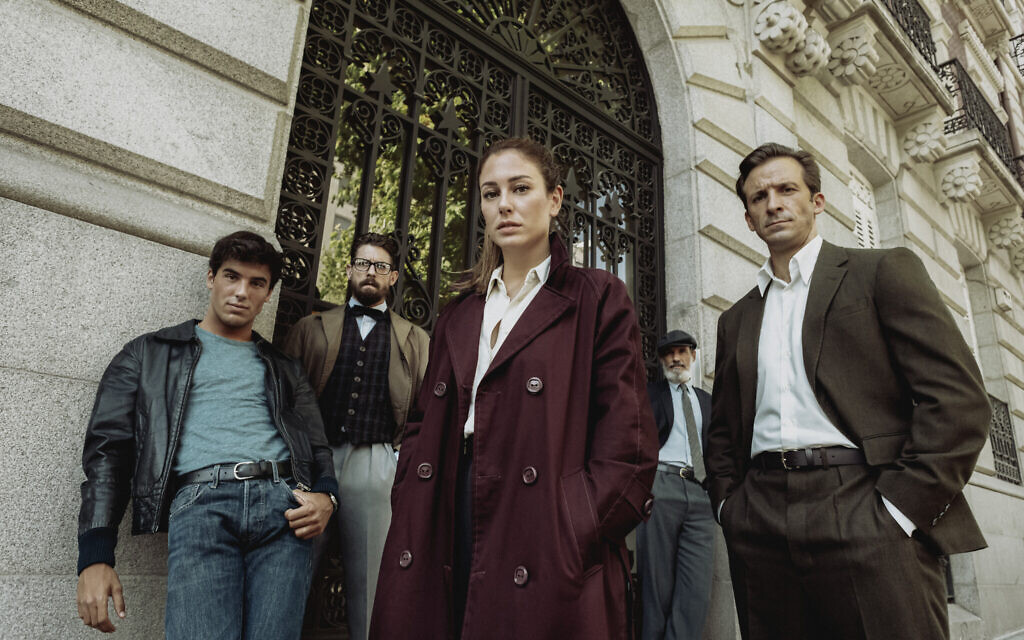 Cast of Netflix's 'Jaguar' limited series (Manuel Fernandez-Valdes/Netflix)