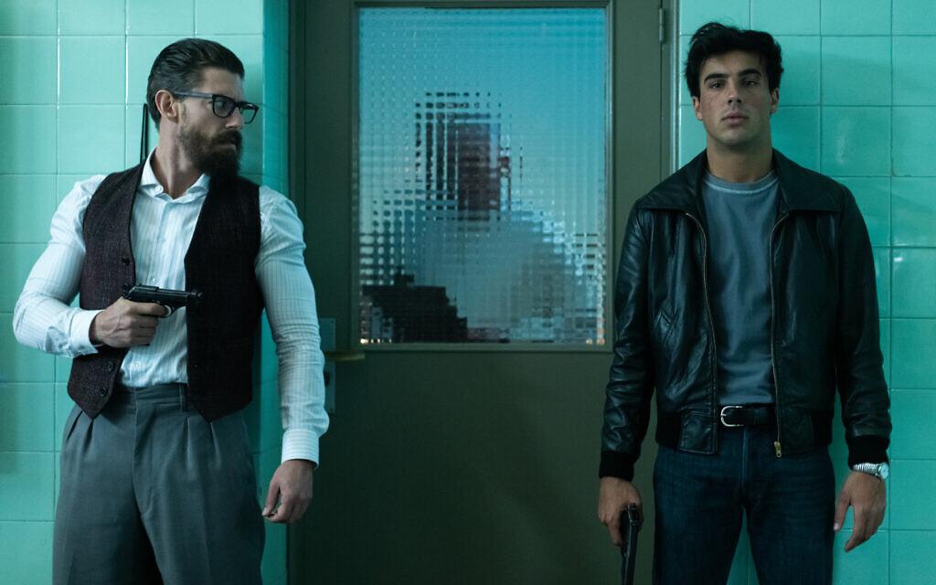 Adrián Lastra as 'Sordo' and Óscar Casas as 'Castro' n Netflix limited series 'Jaguar.' (Manuel Fernandez-Valdes/Netflix)