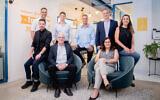 Israeli software startup ProteanTecs' management team in Israel. (Courtesy)