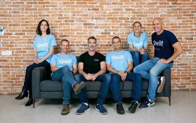The Qwilt leadership team. (Berzi Goldblatt)