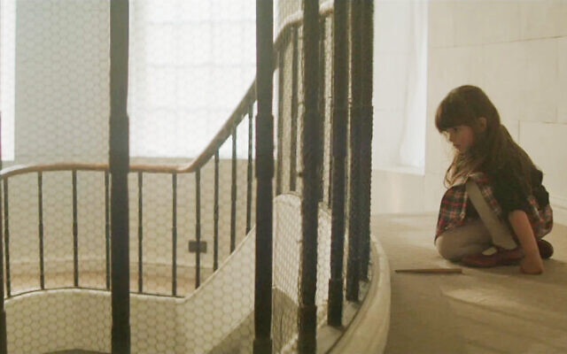 Izabella Dziewanska as 'Ruthie' in short film 'Ganef' by Mark Rosenblatt (Alana Mejia Gonzalez)