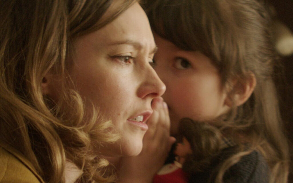 Lydia Wilson as 'Mrs. Hirth' and  Izabella Dziewanska as 'Ruthie' in short film 'Ganef' by Mark Rosenblatt (Alana Mejia Gonzalez)