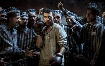 Promo pic for The Champion of Auschwitz, based on the life of Tadeusz Pietrzykowski (Courtesy)