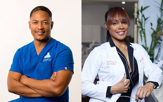 Dr. Gregory Crichlow and Dr. Bobbi Peterson (courtesy)