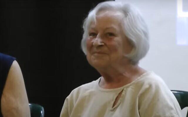 Marcia Freedman in 2013. (Screenshot/YouTube)