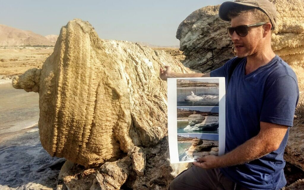 The Dead Sea Revival Project founder Noam Bedein. (Courtesy)