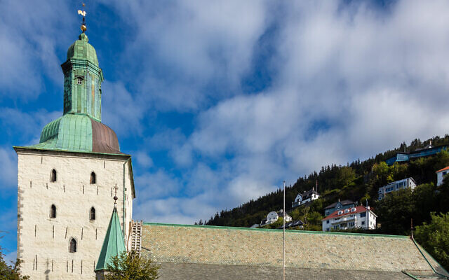 The Cathedral of Bergen, Norway. (CC BY -SA Diego Delso/Wikimedia Commons)