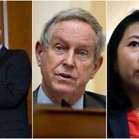 (L-R) Reps. Brad Schneider, Joe Wilson and Stephanie Murphy. (Composite/AP)