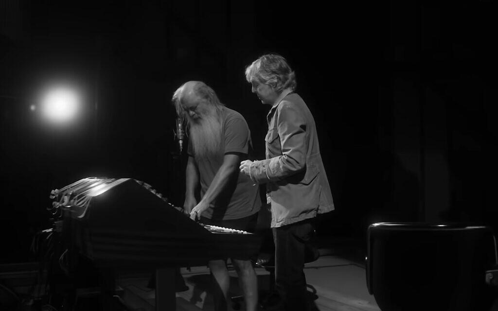 Music producer Rick Rubin, left, and Paul McCartney, in 'McCartney 3,2,1.' (YouTube screenshot/ Hulu)