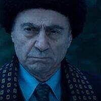 Salim Dau in the movie 'Oslo' (Screen grab/HBO)