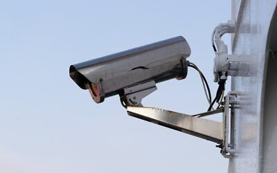 An illustrative photo of a security camera. (Image by Oliver Peters from Pixabay)