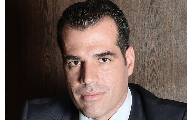 New Greek Health Minister Athanassios Plevris. (The Hellenic Parliament via JTA)