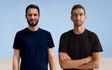 Upswift co-founders Eitan Chudnovsky and Amit Ezer. (Upswift)