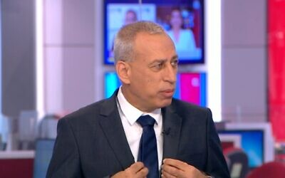 Health Ministry Director-General Nachman Ash speaks to Channel 12 news, on September 28. 2021. (Channel 12 screenshot)