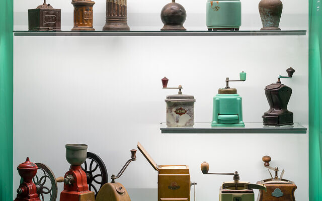 From the coffee collections lent to Jerusalem's Museum of Islamic Art for the 'Coffee: East and West' exhibition that closes in April 2022. (Courtesy: Elad Sarig)