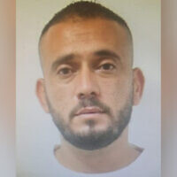 Hasan Abu Ghariba, a psychiatrist arrested for allegedly raping a patient. (Israel Police)