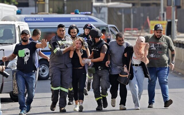 6 killed and 20 injured in gunfire in protest in Beirut over port blast probe