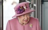 Britain's Queen Elizabeth II attends the ceremonial opening of the sixth Senedd, in Cardiff, Wales, October 14, 2021. (Jacob King / AFP)