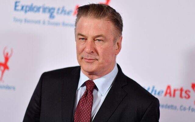 In this file photo taken on April 12, 2019, actor Alec Baldwin attends the 'Exploring the Arts' 20th anniversary Gala at Hammerstein Ballroom in New York City. (Angela Weiss/AFP)