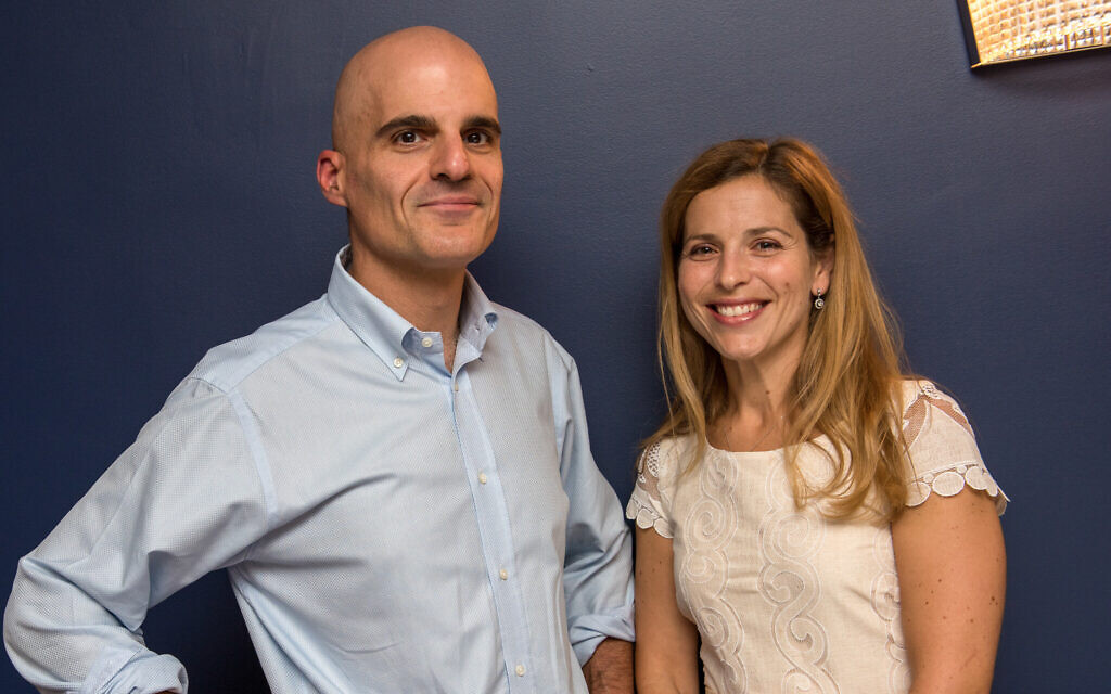 Mark and Erica Gerson help fund Christian missionary hospitals in Africa, but religion has little to do with it.  (Michael Gerson/ via JTA)