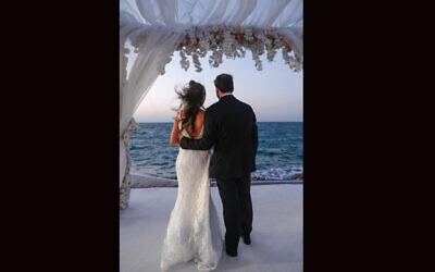 Bahrain's Jewish community celebrated its first Jewish wedding in the country in 52 years Sunday. (Houda Nonoo via JTA)