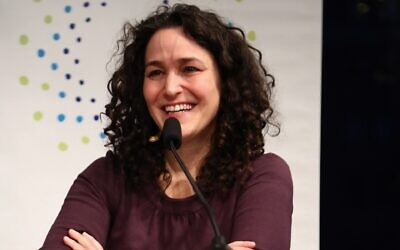 Pamela Shifman attends the launch party of Donor Direct Action at the Ford Foundation in New York City, March 9, 2015. (Astrid Stawiarz/Getty Images for James Grant PR via JTA)
