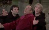Screeen capture from video of Mel Brooks as Torquemada in 'History of the World: Part I' (1981). (20th Century Fox/screenshot via JTA)