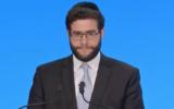 Rabbi Benjamin Goldschmidt. (YouTube screenshot via JTA)