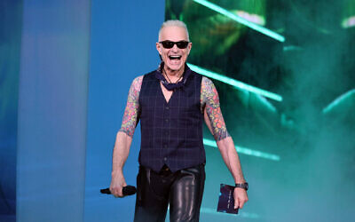 David Lee Roth speaks onstage at the 2021 MTV Video Music Awards at the Barclays Center in Brooklyn, New York, Sept. 12, 2021. (Theo Wargo/Getty Images for MTV/ViacomCBS)