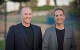 AION Labs CEO Mati Gill, left, and CTO Yair Benita, Ph.D. (Elad Malka)