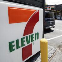 A 7-Eleven sign is shown in Palo Alto, California, July 1, 2008. (Paul Sakuma/AP)