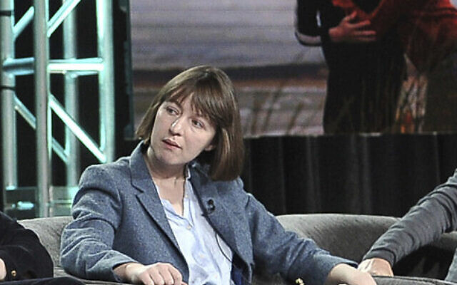 Sally Rooney takes part in a panel during the Winter 2020 Television Critics Association Press Tour, on Friday, January 17, 2020, in Pasadena, CA. (Richard Shotwell/Invision/AP)