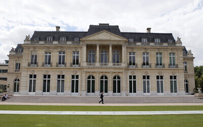 The Organisation for Economic Co-operation and Development (OECD) headquarters is pictured in Paris, France, June 7, 2017. (AP Photo/Francois Mori, File)