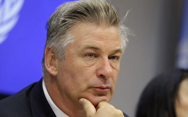 In this Sept. 21, 2015 file photo, actor Alec Baldwin attends a news conference at United Nations headquarters. (AP Photo/Seth Wenig, File)