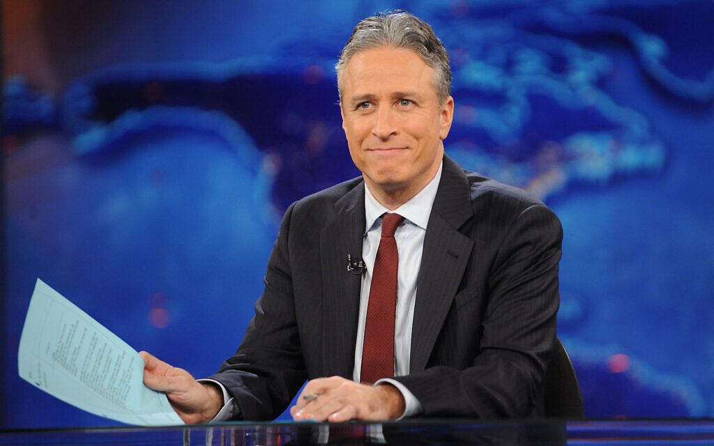 Jon Stewart during a taping of 'The Daily Show with Jon Stewart,'  November 30, 2011, in New York. (AP Photo/Brad Barket, File)