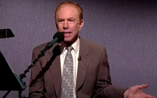 Alan Kalter, on the Late Show with David Letterman. (Wikipedia/Fair Use)