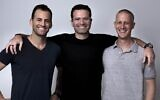 Bizzabo co-founders from left to right: Alon Alroy, Eran Ben-Shushan, Boaz Katz. (Bizzabo)