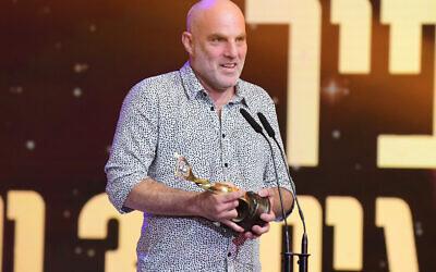 Eran Kolirin, director of the 2021 Ophir Award-winning film (Courtesy Tomer Neuberg/ Flash90)