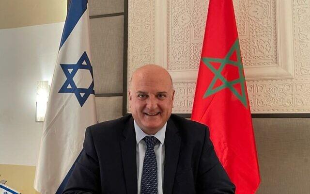 Israel's new ambassador to Morocco, David Govrin. (courtesy)