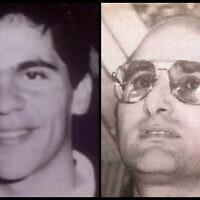 Nissim Shitrit (L) and Avi Edri in undated photos (Courtesy)
