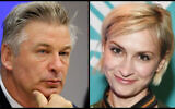 (L) In this Sept. 21, 2015 file photo, actor Alec Baldwin attends a news conference at United Nations headquarters. (AP Photo/Seth Wenig, File) and (R) filmmaker Halyna Hutchins attends the 2018 Sundance Film Festival Official Kickoff Party in Park City, Utah on January 18, 2018 (Sonia Recchia / GETTY IMAGES NORTH AMERICA / AFP)