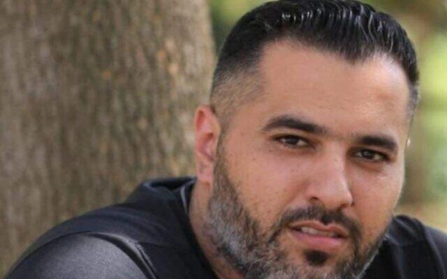 Jihad Hammoud, who was killed in Deir Hanna on October 14, 2021. (Courtesy)