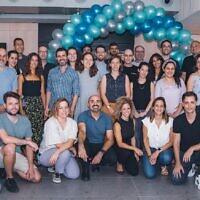 The Immunai team in Israel. (Eliad Golan)