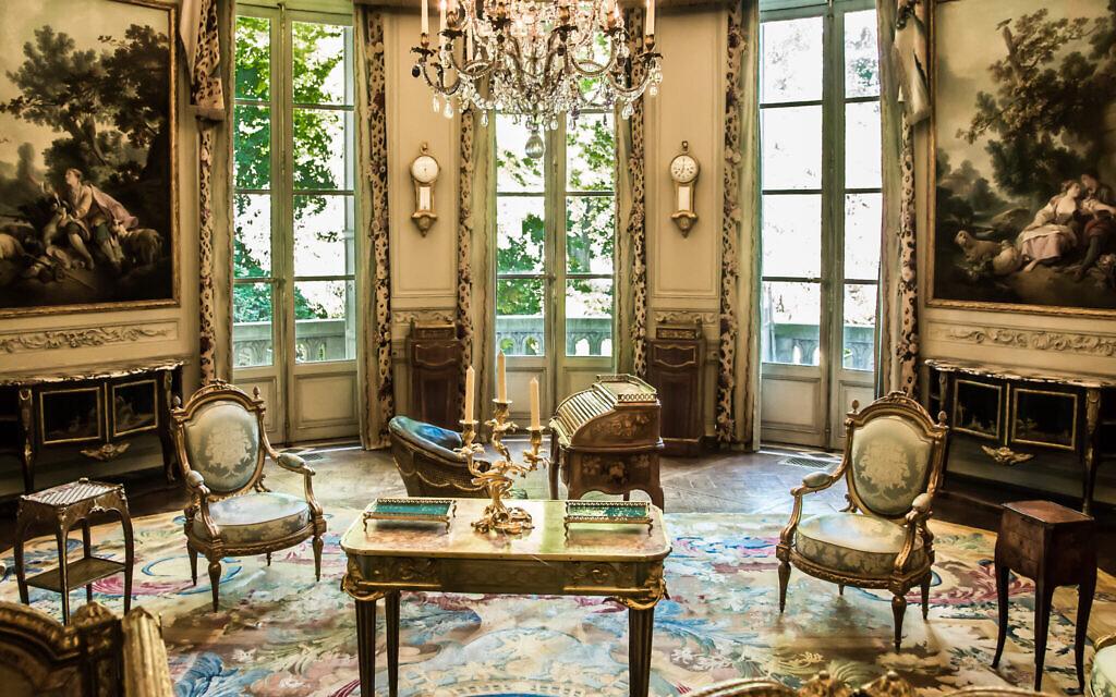 Le salon des Huet (© MAD Paris / Photo: Laszlo Horvath)