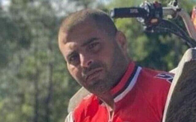 Mehran Mugrabi, who was shot and killed in Haifa, on October 1, 2021. (Courtesy)