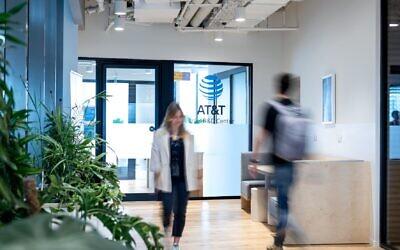 The AT&T office in Israel. (Nadav Karlinsky)