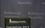 The United Synagogue for Conervative Judaism's 2014 Rabbinical Assembly convention. (Screen capture/YouTube)
