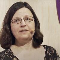 Swedish Education Minister Anna Ekström. (Screen capture: YouTube)