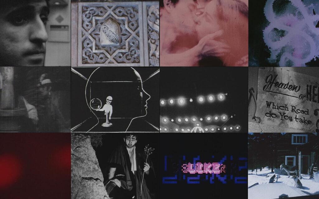 Archival split-screen frames from 'The Velvet Underground' by filmmaker Todd Haynes. (Courtesy Apple TV+)