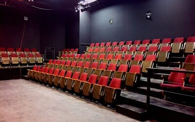 The 104-seat theater built by Grant and Daniella Crankshaw for their Ra'anana Center Stage venue, is under threat of closure due to the pandemic (Courtesy Center Stage)